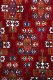 Anatolian handmade carpet closer Stock Images