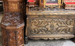 Anatolian trunk in the bazaar Stock Photo
