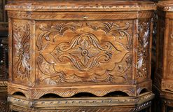 Anatolian wooden trunk Stock Photo