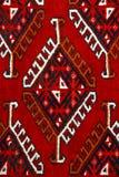Anatolisch tapijtontwerp Stock Afbeeldingen
