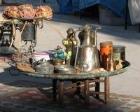 Anatolische kupferne Gegenstände Lizenzfreie Stockfotografie