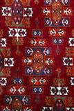 Anatolischer handgemachter Teppich genauer Stockbilder