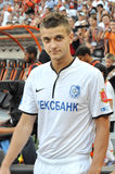 Anatoliy Didenko out on the field Royalty Free Stock Photo