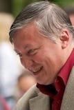 Anatoliy Karpov, campeón del mundo en un ajedrez Fotos de archivo libres de regalías
