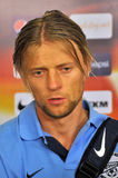 Anatoliy Tymoshchuk. Portrait in mix zone Royalty Free Stock Image