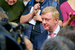 Anatoly Borisovich Chubais - General Manager of the State Corporation Rosnanotech Stock Image