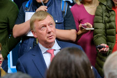 Anatoly Borisovich Chubais - General Manager of the State Corporation Rosnanotech Stock Photography