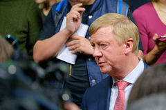 Anatoly Borisovich Chubais - General Manager of the State Corporation Rosnanotech Stock Photos