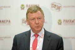 Anatoly Chubais photo libre de droits