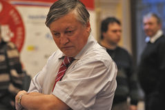 Anatoly Karpov Stock Photography