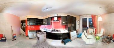 Anatomía de la renovación de la cocina fotografía de archivo