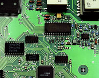 Anatomia degli apparecchi elettronici. Fotografia Stock Libera da Diritti