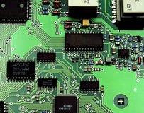 Anatomia dos dispositivos electrónicos. Fotografia de Stock Royalty Free