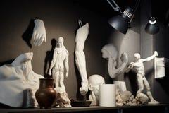 Anatomia w rzeźbach Obraz Stock