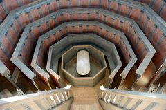 The Anatomical Theatre, Uppsala. Anatomical Theatre in Museum Gustavianum, Uppsala, Sweeden stock photo