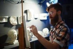 Anatomie-Studie in Art Studio Lizenzfreie Stockfotos