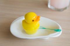 Anatra della gelatina Fotografie Stock
