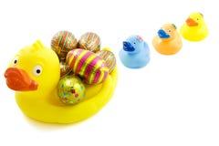 Anatra di Pasqua Fotografia Stock