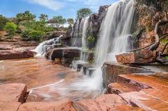Anaway Waterfall, Venezuela. Beautiful waterfall in Venezuelan Savanna Stock Image