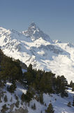 Anayet peak Royalty Free Stock Image