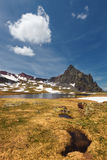 Anayet peak, in the Pyrenees, Huesca, Spain. Royalty Free Stock Images
