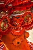 Anbetung der Göttin Kali in Kerala Stockbild