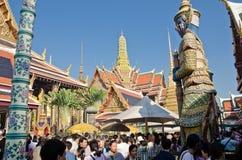 Anbetung des neuen Jahres in Thailand stockfotografie