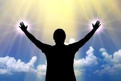 Anbetung zum Gott Lizenzfreie Stockfotos