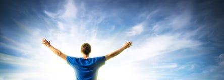 Anbetung zum Gott lizenzfreies stockbild