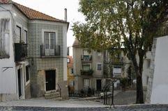 Anblick von Alfama, Lissabon Stockfoto