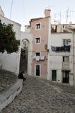Anblick von Alfama, Lissabon Lizenzfreies Stockbild