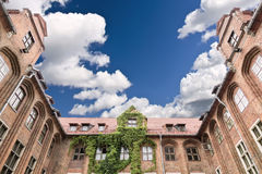 Anblick von Polen. Rathaus in Torun Stockfoto