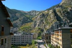 Anblick von Pyrenees stockfotos