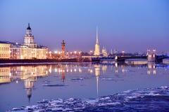 Anblick von St Petersburg, Russland Stockfotos