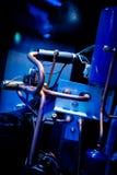 Anc van Interordetails componenten van een AC Airconditioningseenheid stock foto's