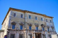 Ancaiani palace. Spoleto. Umbria. Italy. Royalty Free Stock Photos