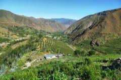 Ancashprovincie, Peru royalty-vrije stock afbeeldingen