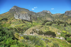 Ancashprovincie, Peru royalty-vrije stock foto's