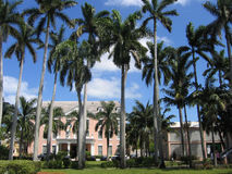 Ancbacher House Nassau Bahamas. Front View royalty free stock photo