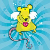 Ancel cupid rat Royalty Free Stock Photography