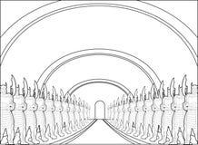 Ancestral hall Stock Image