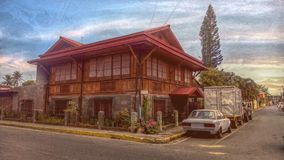 Ancestral House. At the Philippines during Spanish era Stock Photos