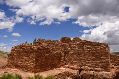 Ancestral Puebloan ruins Stock Photography