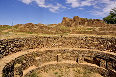 Ancestral Puebloan settlement Stock Photo