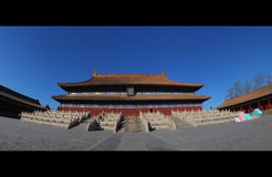 The ancestral shrine temple. The Imperial Ancestral Temple Stock Images