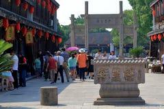 AnChang antyczny miasteczko Jiangnan kochliwi uczucia Zdjęcia Royalty Free