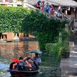 AnChang antyczny miasteczko Jiangnan kochliwi uczucia Zdjęcia Stock