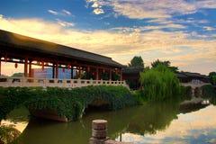 AnChang antyczny miasteczko Jiangnan kochliwi uczucia Zdjęcie Royalty Free