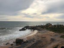 Anche bellezza di vista di oceano della natura del brach fotografia stock libera da diritti