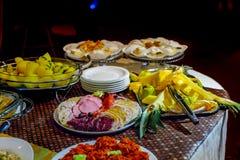 Anche buffet Immagine Stock